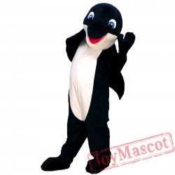 Blue Gray Dolphin Mascot Costume for Adult