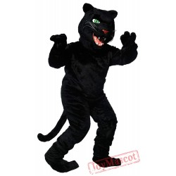 Black Panther Mascot Costume for Adult