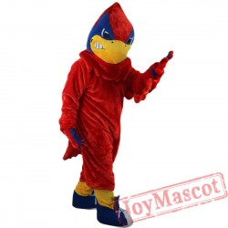 Red Eagle Bird Mascot Costume for Adult