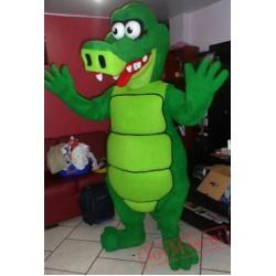 Alligator Swamp Mascot Costume Adult Swamp Costume