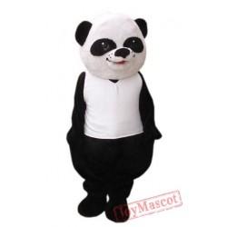 Adult Panda Cartoon Mascot Costume