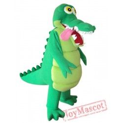 Alligator Mascot Costume Adult Alligator Costume