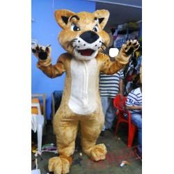 Bobcats Tiger Mascot Costume Adult Animal Costume