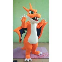 Adult charmander pokemon Mascot Costume