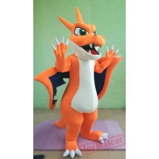 Adult charmander pokemon Mascot Costume