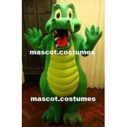 Alligator Lizard Mascot Costume Adult