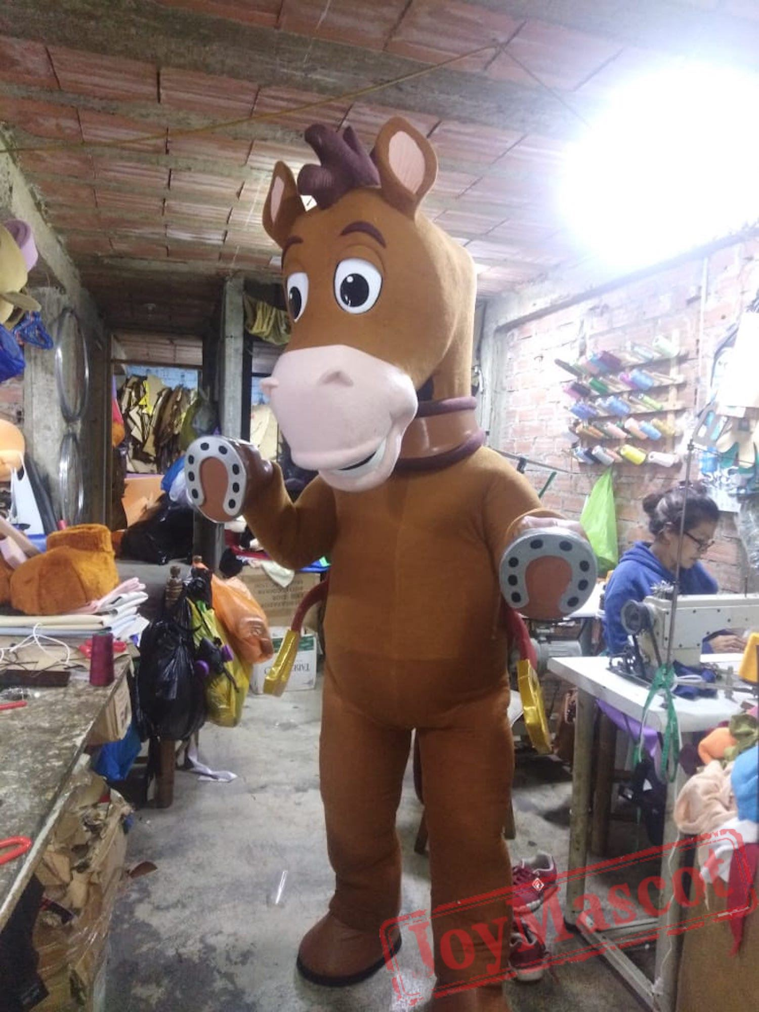 Woody Mascot Costume Head Adult Cartoon Costume Head For Sale