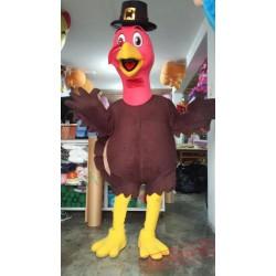 Animal Turkey Mascot Costume Adult