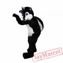 Black Raccoon Mascot Costume for Adult