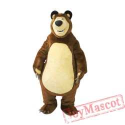 Big Bear Ursa Grizzly Mascot Costume for Adult