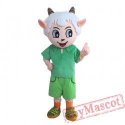 Anime Pleasant Sheep Mascot Costume for Adult