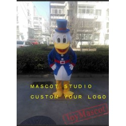 Blue Duck Mascot Costume for Adult