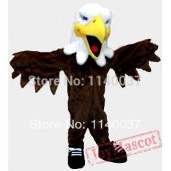 Hawk Eagle Falcon Mascot Costume for Adult