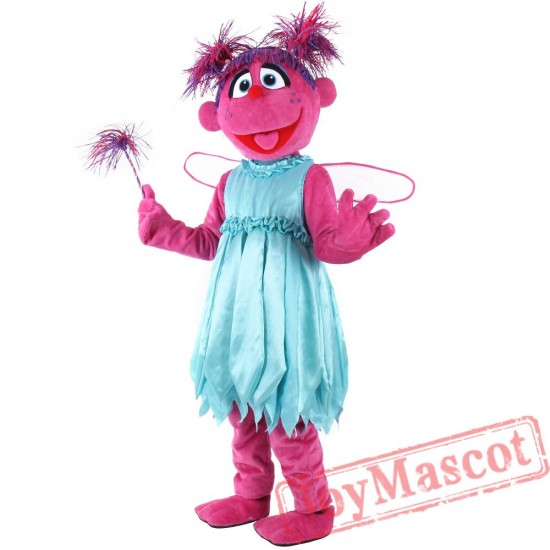 Abby Cadabby Mascot Costume for Adult