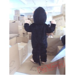 Black Orangutans Mascot Costume for Adult
