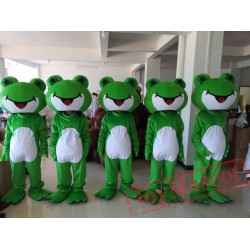 Frog Mascot Costume for Adult