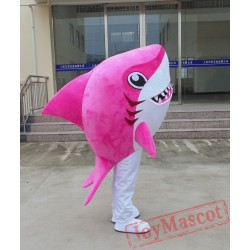 Red Shark Baby Mascot Costume for Adult