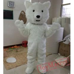 Polar Bear Mascot Costume for Adult