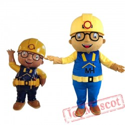 Babu Cartoon Mascot Costume for Adult