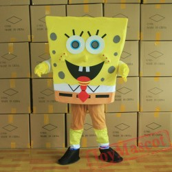 Spongebob Mascot Costume for Adult