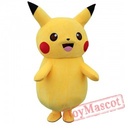 Pikachu Mascot Costume for Adult