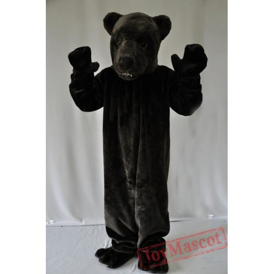 Black Bear Mascot Costume for Adult