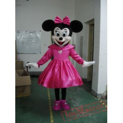 Disney Minnie Mouse Mascot Costume for Adult