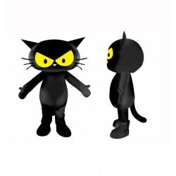 Black Cat Animal Mascot Costume