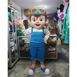 Cocomelon TomTom Boy Mascot Costume