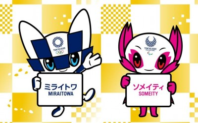 Tokyo 2020 introduces names of mascot costumes for Olympic, Paralympic Games