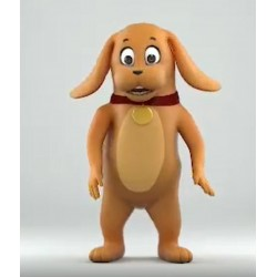 Animal Dog Mascot Costume for Adult