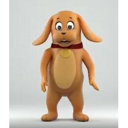 Animal Dog Mascot Costume for Adult