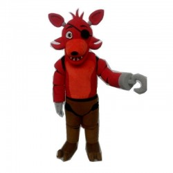 Five Nights at Freddy's FNAF Creepy Toy red Foxy mascot Costume
