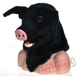 Animal pig Fursuit Head Mascot Head