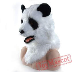 Animal panda Fursuit Head Mascot Head