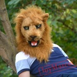 Animal lion Fursuit Head Mascot Head