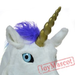 Animal unicorn Fursuit Head Mascot Head
