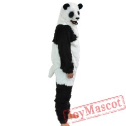 Animal Panda Fursuit Mascot Costume for Adult
