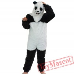 Animal Panda Fursuit Mascot Costume for Adult