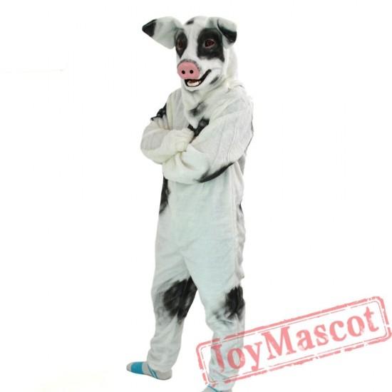 Animal Pig Fursuit Mascot Costume for Adult