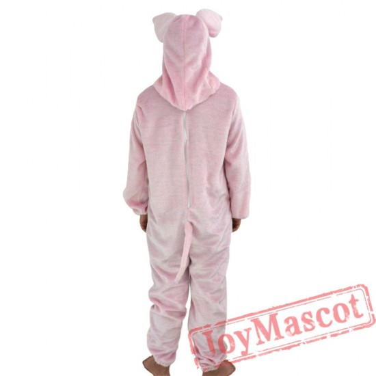 Animal Pink pig Fursuit Mascot Costume for Adult