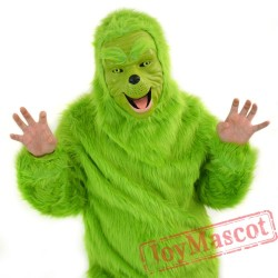 Animal Christmas geek Fursuit Mascot Costume for Adult