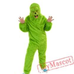 Christmas Grinch Costume Mascot Costume