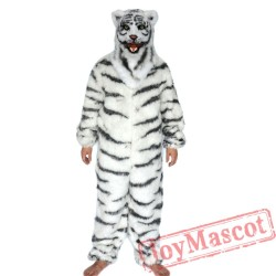 Animal Tiger Fursuit Mascot Costume for Adult