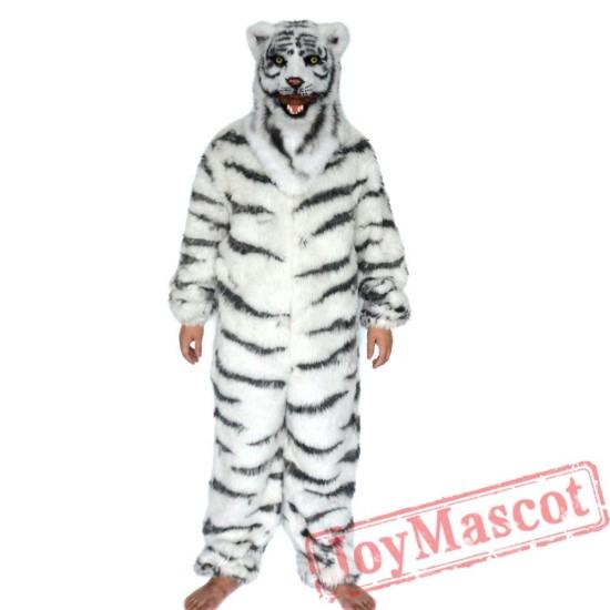 Animal Tiger Fursuit Mascot Costume for Adult