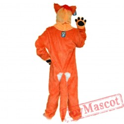 Animal Fox / Wolf Fursuit Mascot Costume for Adult