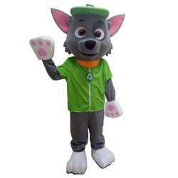 Rocky Dog Paw Patrol Cartoon Mascot Costume