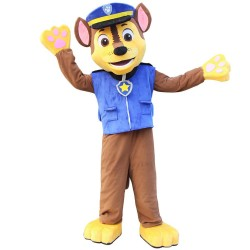 Chase Dog Paw Patrol Cartoon Mascot Costume