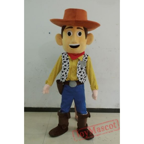Cartoon Toy Sotry Woody Mascot Costume for Adults
