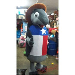 Animal Texas Armadillo Mascot Costume for Adult
